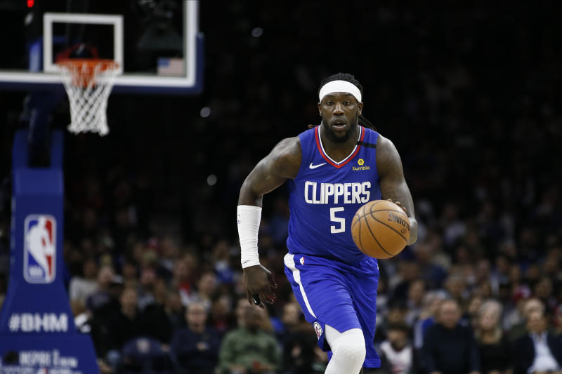 Los Angeles Clippers forward Montrezl Harrell