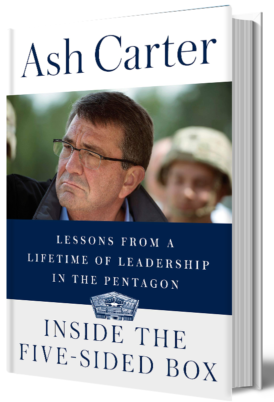Jacket design by Jason Booher, Photography of Ash Carter by Air Force Master Sgt. Adrian Cadiz Image of Pentagon by Taweesak Nunwongsa