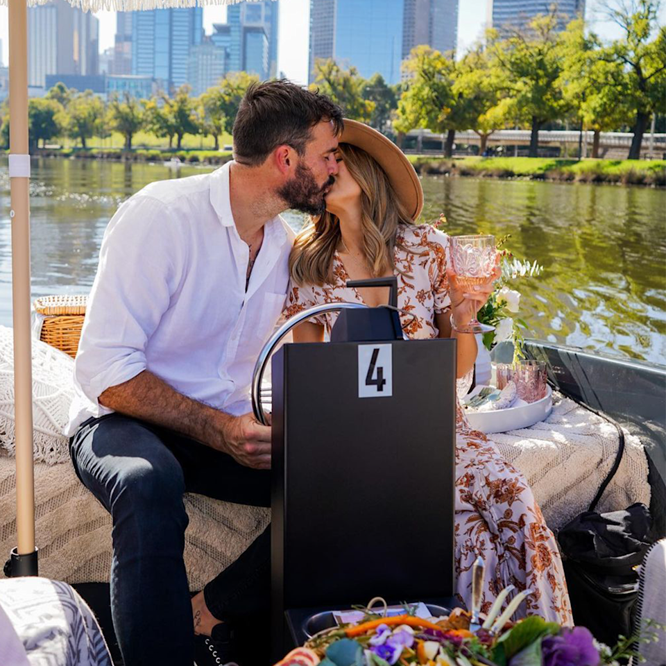 Bachelor's Irena and Locky went on a romantic date in Melbourne