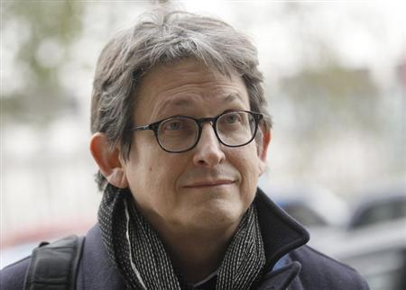 The editor of The Guardian Alan Rusbridger arrives at Portcullis House in London