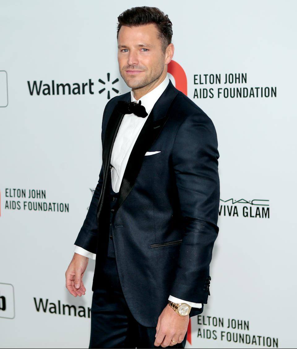 Mark Wright attending the Elton John AIDS Foundation Viewing Party held at West Hollywood Park, Los Angeles, California, USA