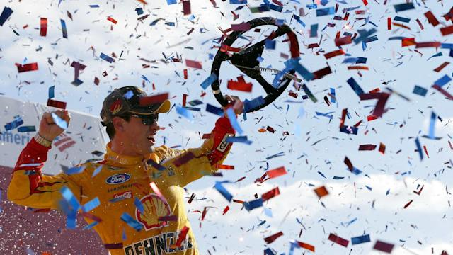 Joey Logano started Sunday's Toyota Owners 400 in the 37th position, setting a track record for a driver who went on to win at Richmond.