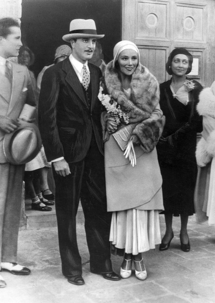 <p>Soon after Mexican actress Dolores Del Río earned attention as a silent film star in Hollywood, she met Oscar-winning director Cedric Gibbons. After marrying in 1930, the couple moved into a now iconic art deco mansion in Los Angeles. They were together for 11 years before divorcing in 1941. </p>