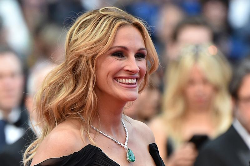 Pretty woman: Julia Roberts is officially the World's Most Beautiful woman: Alberto Pizzoli/AFP/Getty