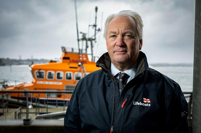"""RNLI Chief Executive Mark Dowie called the abuse """"unacceptable"""" (RNLI)"""