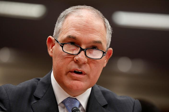EPA chief Scott Pruitt has long favored industry over environmental and public health advocates. (Photo: Aaron Bernstein/Reuters)