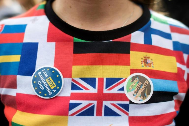 Europeans living in Britain are concerned about the post-Brexit future