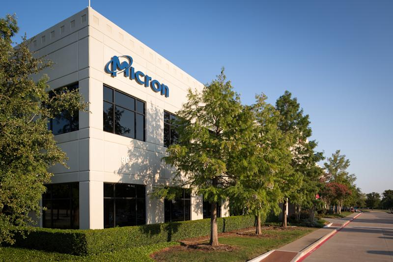 A Micron building.