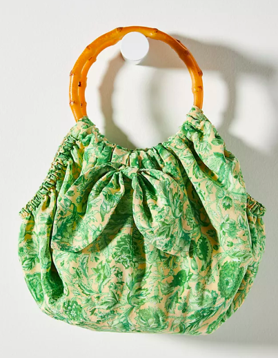 Pippa Ring Handle Clutch. Image via Anthropologie.