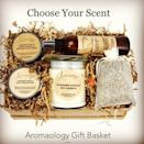 """<p><strong>Aromaology</strong></p><p>etsy.com</p><p><strong>$85.00</strong></p><p><a href=""""https://go.redirectingat.com?id=74968X1596630&url=https%3A%2F%2Fwww.etsy.com%2Flisting%2F644383170%2Fgift-basket-spa-gift-basket-peppermint&sref=https%3A%2F%2Fwww.womenshealthmag.com%2Flife%2Fg19924022%2Fbest-gifts-for-parents%2F"""" rel=""""nofollow noopener"""" target=""""_blank"""" data-ylk=""""slk:Shop Now"""" class=""""link rapid-noclick-resp"""">Shop Now</a></p><p>The holidays are a stressful time, and our parents are usually the ones trying to keep it together the most to make sure everything goes smoothly. They're probably hosting lots of family, creating a dinner menu that abides by all of the diet restrictions, and trying to get <em>you</em> the best presents that you won't want to return. There's no better gift for the emotionally and physically stressed than a spa basket. With body scrubs, candles, and a whole bag of lavender, your parents' stress levels will subside until the next holiday season. Or at least here's hoping they will.</p>"""