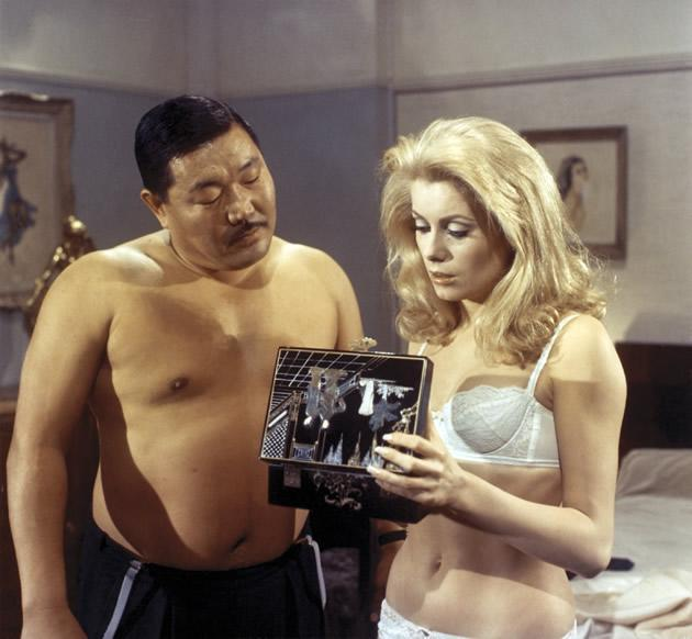 """""""Belle de Jour"""" tells the story of Saverine, a married woman who cannot be intimate with her husband, and leads a double life as a prostitute. (Photo courtesy of Perspectives Film Festival)"""