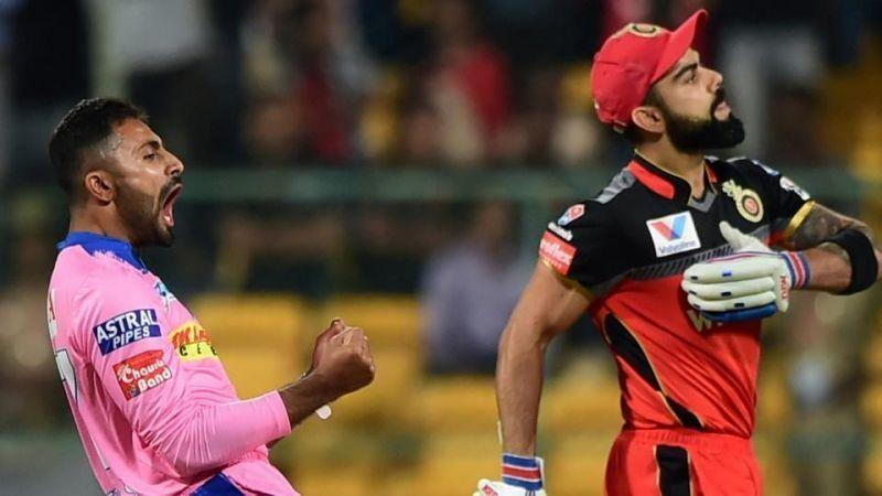 Virat Kohli has become Shreyas Gopal's bunny (Image Courtesy: IPLT20/BCCI)