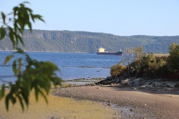 The Quebec government's decision not to approve a LNG facility in the Saguenay region effectively kills a $14-billion project that would have carried natural gas from Western Canada across Quebec to the Saguenay port, then shipped it overseas. (Julia Page/CBC - image credit)