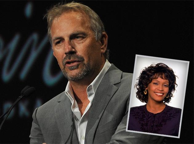 Did kevin costner and whitney houston date