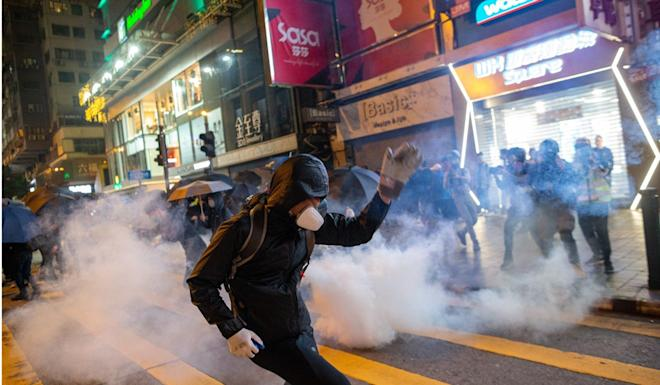 Hong Kong has been in the grip of protests since June. Photo: EPA
