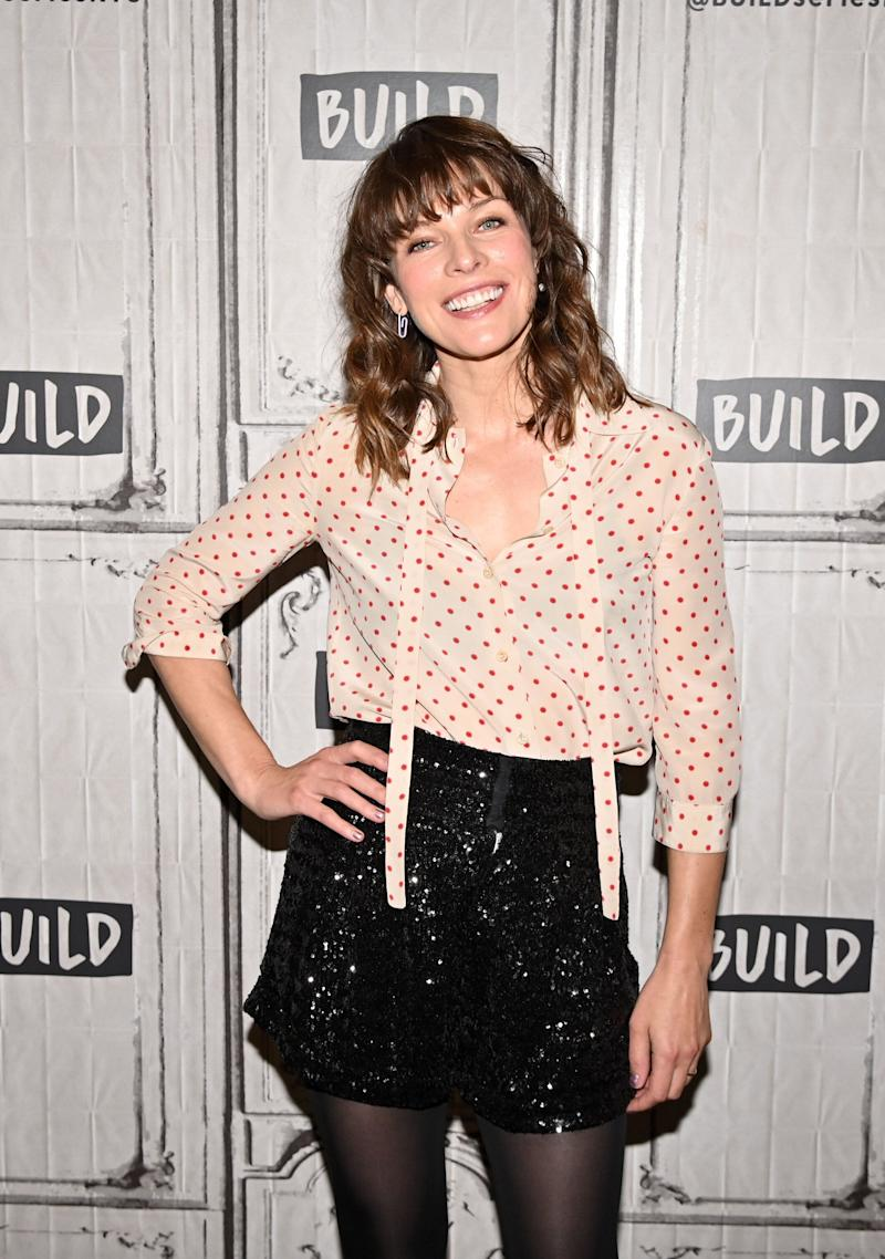 Actress Milla Jovovich visits Build at Build Studio on April 8, 2019, in New York City. (Photo: Theo Wargo/Getty Images)