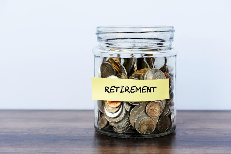 Retirement Coin Jar