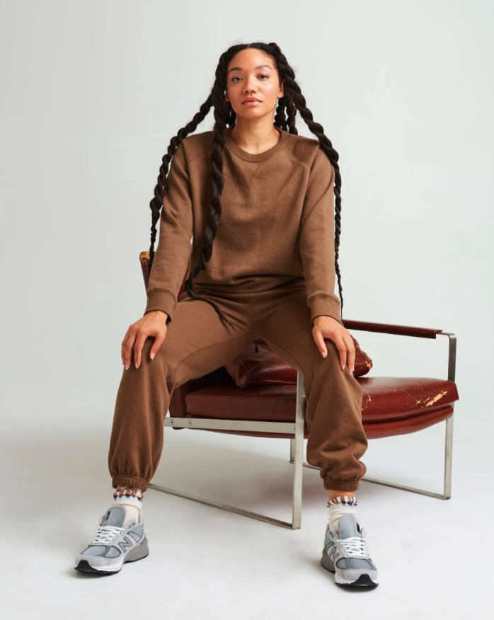 """<strong><h2>Richer Poorer Recycled Fleece Sweatsuit</h2></strong> <br><strong>Why It's A Best Buy</strong>: Options in the world of sweatsuit have proliferated considerably in the past 12 months. (See our frequently-updated list of the <a href=""""https://www.refinery29.com/en-us/best-matching-sweatsuits-womens"""" rel=""""nofollow noopener"""" target=""""_blank"""" data-ylk=""""slk:best matching sweatsuits"""" class=""""link rapid-noclick-resp"""">best matching sweatsuits</a> — it's currently clocking in at 29 styles, and shows no signs of stopping.) There's a good reason for this — it boasts the comfort of pajamas paired with the head-to-toe coordination of an outfit that you've put effort into.<br><br><strong>The Review</strong>: """"Been searching for a long time for the perfect sweatpants — these are them. Not too tight and not too baggy. Nicely sewn with a cuff that's not wide and clumsy. Fabric is heavy but not excessively so. Like the color I ordered (orange). Wish there were more choices."""" — Amy Lambert, <a href=""""https://richer-poorer.com/"""" rel=""""nofollow noopener"""" target=""""_blank"""" data-ylk=""""slk:RicherPoorer.com"""" class=""""link rapid-noclick-resp"""">RicherPoorer.com</a> reviewer<br><br><strong>Richer Poorer</strong> Recycled Fleece Sweatpant, $, available at <a href=""""https://go.skimresources.com/?id=30283X879131&url=https%3A%2F%2Ffave.co%2F3rt2Hwb"""" rel=""""nofollow noopener"""" target=""""_blank"""" data-ylk=""""slk:Richer Poorer"""" class=""""link rapid-noclick-resp"""">Richer Poorer</a><br><br><strong>Richer Poorer</strong> Fleece Sweatshirt, $, available at <a href=""""https://go.skimresources.com/?id=30283X879131&url=https%3A%2F%2Ffave.co%2F2WJ3L0A"""" rel=""""nofollow noopener"""" target=""""_blank"""" data-ylk=""""slk:Richer Poorer"""" class=""""link rapid-noclick-resp"""">Richer Poorer</a>"""