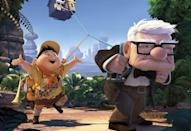 """<p><em>Up </em>is about everything that happens after a heartbreak. The iconic opening segment tells the story of Ellie and Karl without dialogue, using elements of animation alone. After Ellie passes away, Karl sets off on a journey to travel to their bucket list destination. <br></p><p><a class=""""link rapid-noclick-resp"""" href=""""https://go.redirectingat.com?id=74968X1596630&url=https%3A%2F%2Fwww.disneyplus.com%2Fmovies%2Fup%2F3XiRSXriK0E8&sref=https%3A%2F%2Fwww.oprahdaily.com%2Fentertainment%2Fg33383086%2Fbest-romantic-movies%2F"""" rel=""""nofollow noopener"""" target=""""_blank"""" data-ylk=""""slk:Watch Now"""">Watch Now</a></p>"""