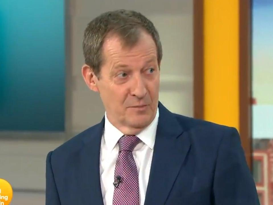Alastair Campbell, as featured on Good Morning Britain on 12 May (ITV)