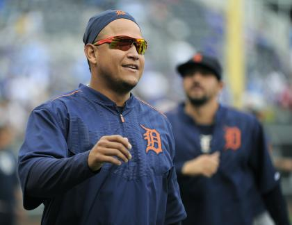 Cabrera's teammates praise him for his personality in the clubhouse. (Getty Images)