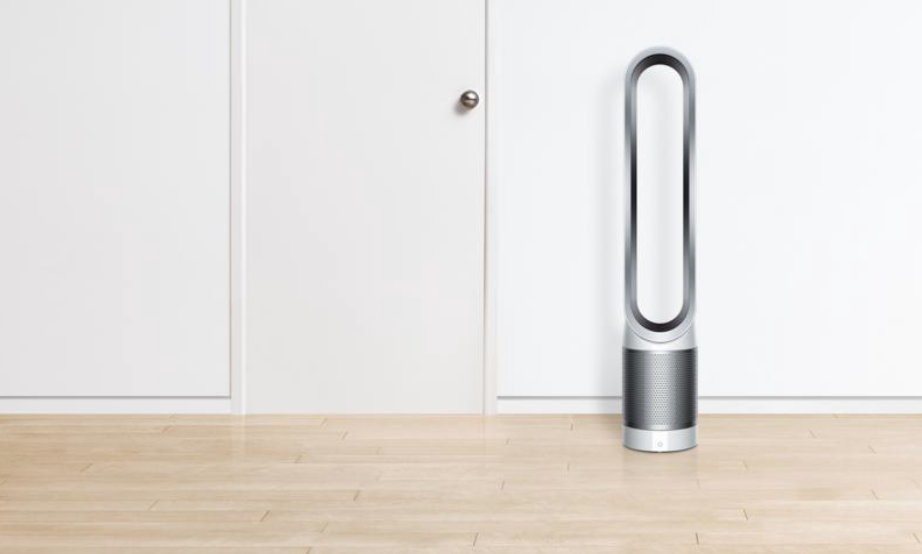 Normally retailing for $400, the Dyson Pure Cool TP01 Air Purifier is only $319 and eligible for free shipping right now. (Photo: HSN / Getty)