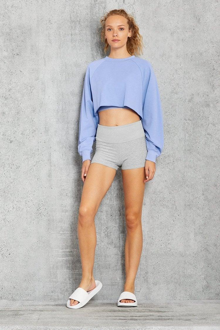 <p>This <span>Alo Double Take Pullover</span> ($88) is so fun.</p>