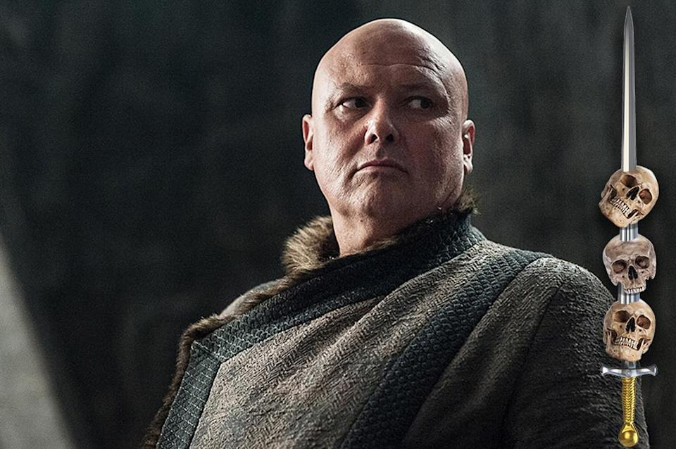 <p>The Spider has amassed power and influence for decades from the shadows, but now that he's thrown in with House Targaryen, Varys is as exposed as he's ever been. Largely cut off from his information network in King's Landing, he may not be able to see the assassin's blade coming in time.<br><br>(Photo Credit: HBO) </p>