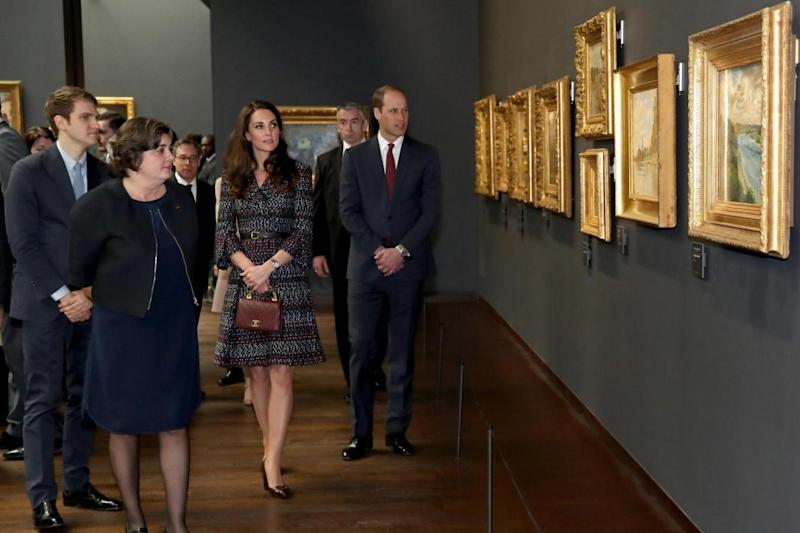 Tour: William and Kate are on a trip to Paris (Getty Images)