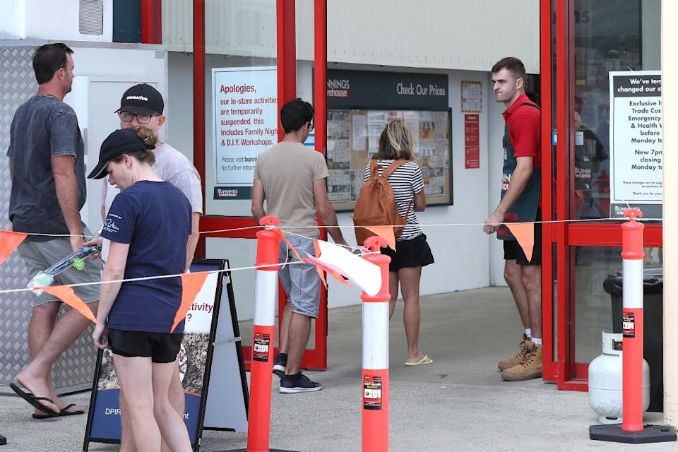 Bunnings could escape proposed 'stage four' lockdown closures. Source: Getty