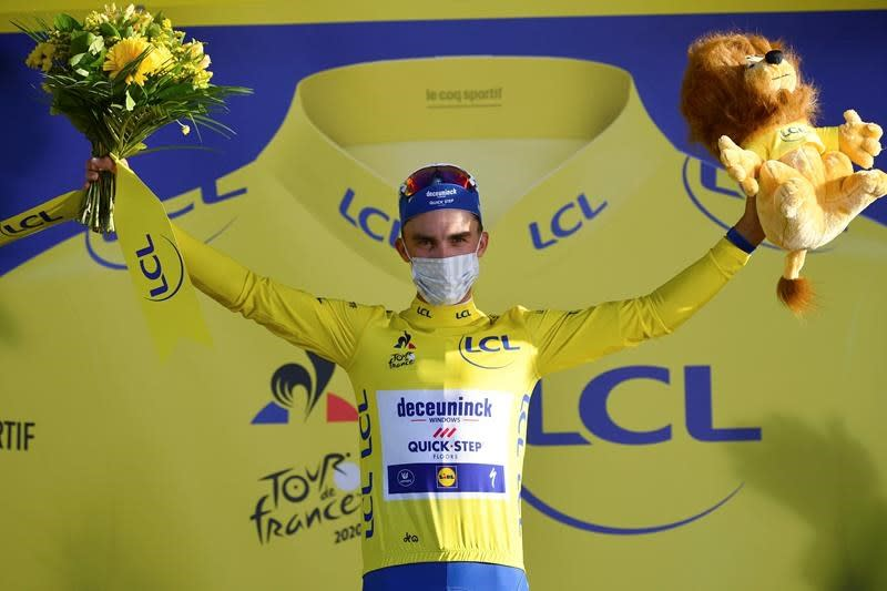 He's back! Alaphilippe takes emotional win at Tour de France