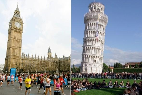 London's Leaning Tower of Pisa: Big Ben is 'tilting', say experts
