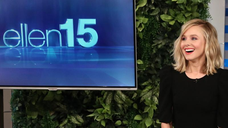 Kristen Bell Hosts 'Ellen DeGeneres Show' And Gets Grilled About Elsa's Sexuality