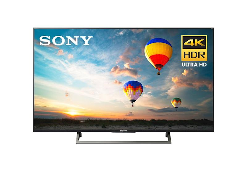 "We found&nbsp;<strong><a href=""https://fave.co/2lLPXTR"" target=""_blank"" rel=""noopener noreferrer"">this 49-inch Sony Bravia 4K HD Android TV on sale at Walmart for $439</a></strong>&nbsp;&mdash; a huge markdown from its normally $898 price tag. Sneakily, Walmart makes you add the TV to your cart before you can see the final price tag, but rest assured, once it&rsquo;s there you&rsquo;ll see the&nbsp;<strong><a href=""https://fave.co/2lLPXTR"" target=""_blank"" rel=""noopener noreferrer"">$439 sale price</a></strong>."