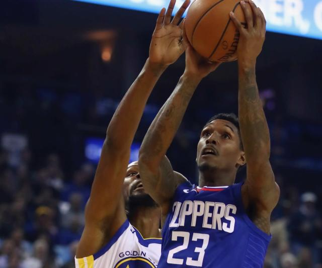 Lou Williams upstaged Kevin Durant on his milestone night and led the Clippers to victory Wednesday. (AP)
