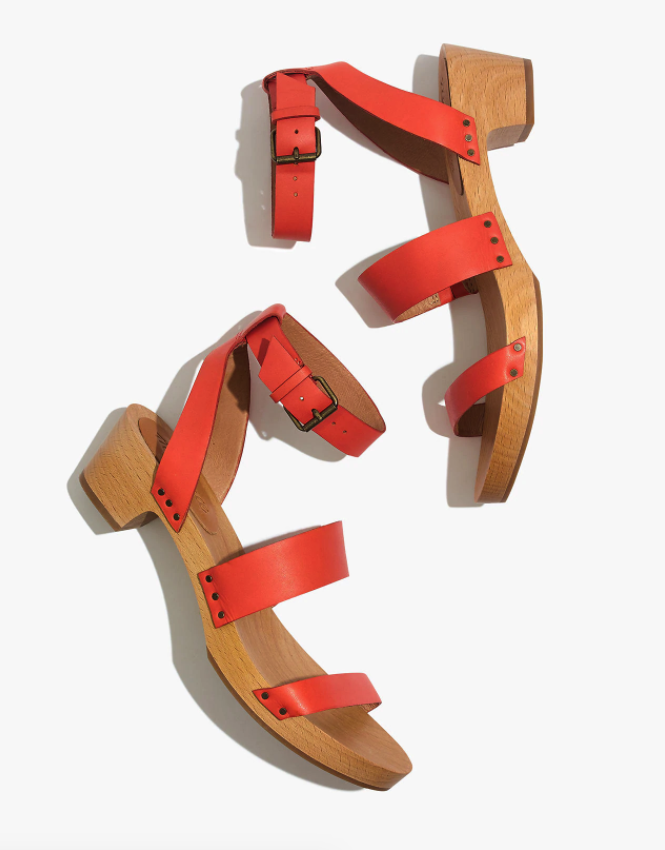 """<br> <br> <strong>Madewell</strong> The Jodi Clog, $, available at <a href=""""https://go.skimresources.com/?id=30283X879131&url=https%3A%2F%2Fwww.madewell.com%2Fthe-jodi-clog-AM227.html"""" rel=""""nofollow noopener"""" target=""""_blank"""" data-ylk=""""slk:Madewell"""" class=""""link rapid-noclick-resp"""">Madewell</a>"""