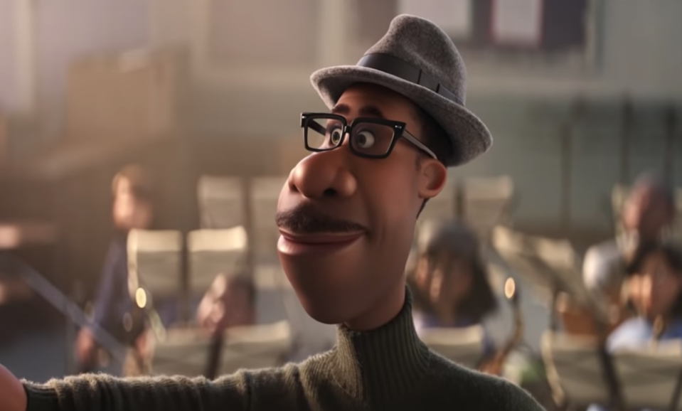 "Jamie Foxx voices Joe in Disney-Pixar's ""Soul"""