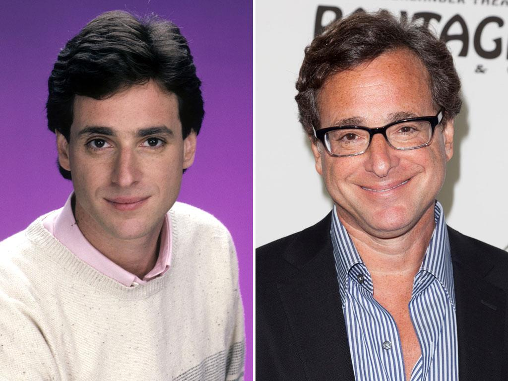 """<b>Bob Saget (Danny Tanner)</b><br><br>Bob Saget found early success in the entertainment world. At 19, while enrolled at Temple University, he won a student Academy Award for his documentary short """"Through Adam's Eyes."""" He quickly turned to stand-up comedy, making the occasional guest appearance on series like """"The Greatest American Hero"""" and """"It's a Living.""""<br><br>But Saget became a household name when he took the part of one of America's most lovable TV dads, Danny Tanner. The role of the widower with three small daughters and two best friends put Saget on the sitcom map and gave him a squeaky-clean image that he'd carry through to his other big TV gig, host of """"America's Funniest Home Videos.""""<br><br>Saget returned to situation comedies in 2009 with """"Surviving Suburbia,"""" but the show lasted only 13 episodes. Yet when Saget played himself in three episodes of """"Entourage,"""" fans saw a darker persona than he'd revealed on primetime before. Still, Saget hasn't turned his back on mainstream TV completely. Since 2005, he's served as the narrator on the hit show """"How I Met Your Mother."""" He also continues to tour as a stand-up comic and recently filmed a special at the Moore Theatre in Seattle.<br><br>Saget divorced his wife of 15 years, Sherri Kramer Saget, in 1997. The couple has three daughters: twins Aubrey and Lara Melanie, and their younger sister, Jennifer Belle."""