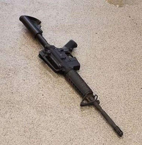 PHOTO: Metro Nashville Police Department released this photo of rifle used by gunman at Waffle House shooting near Nashville, Tenn., April 22, 2018. (Metro Nashville Police Department)