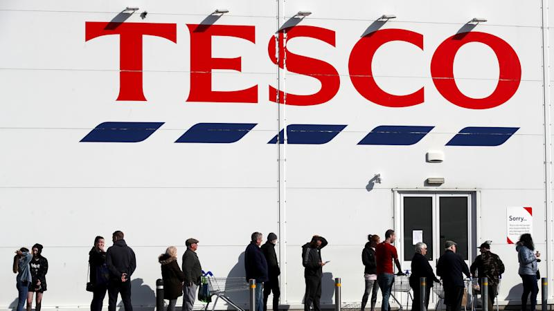 Tesco expands home delivery service as shopper demand soars