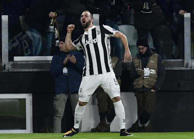 Juventus handed Champions League injury boost as Gonzalo Higuain expects to lead line at Tottenham