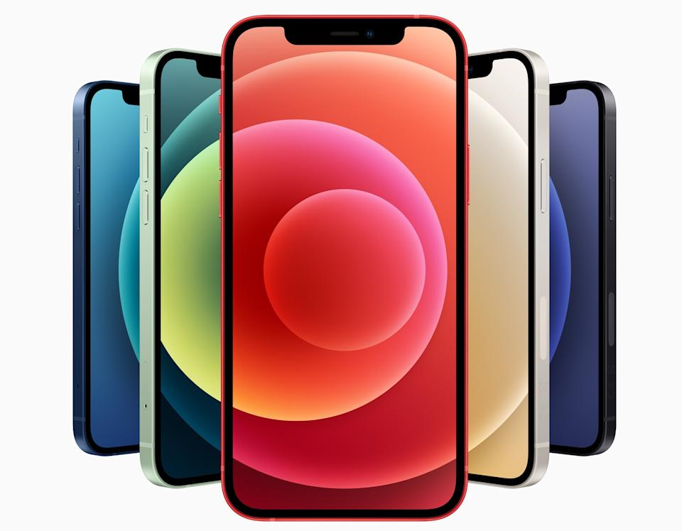 Apple's new iPhone 12 line gets 5G cellular technology, but don't expect the new standard to change your life overnight. (Image: Apple)