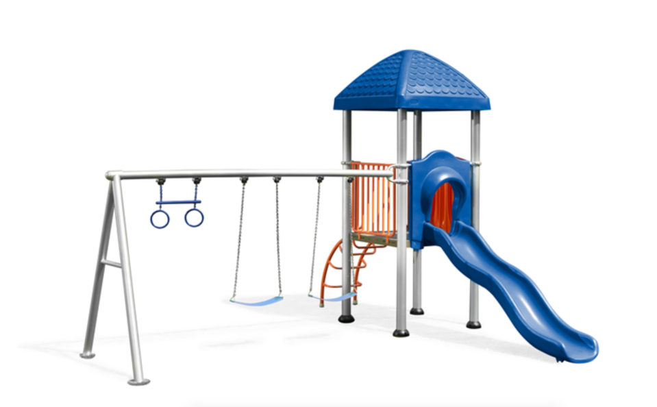 Bunnings  Swing Slide Climb play set