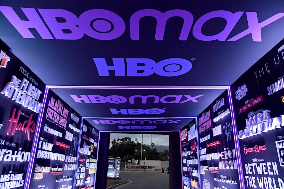 PASADENA, CA - MAY 20: Atmosphere at the HBO Max FYC Drive-In for