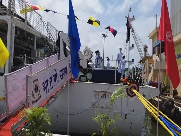 ICG ship Sajag was commissioned by National Security Advisor Ajit Doval