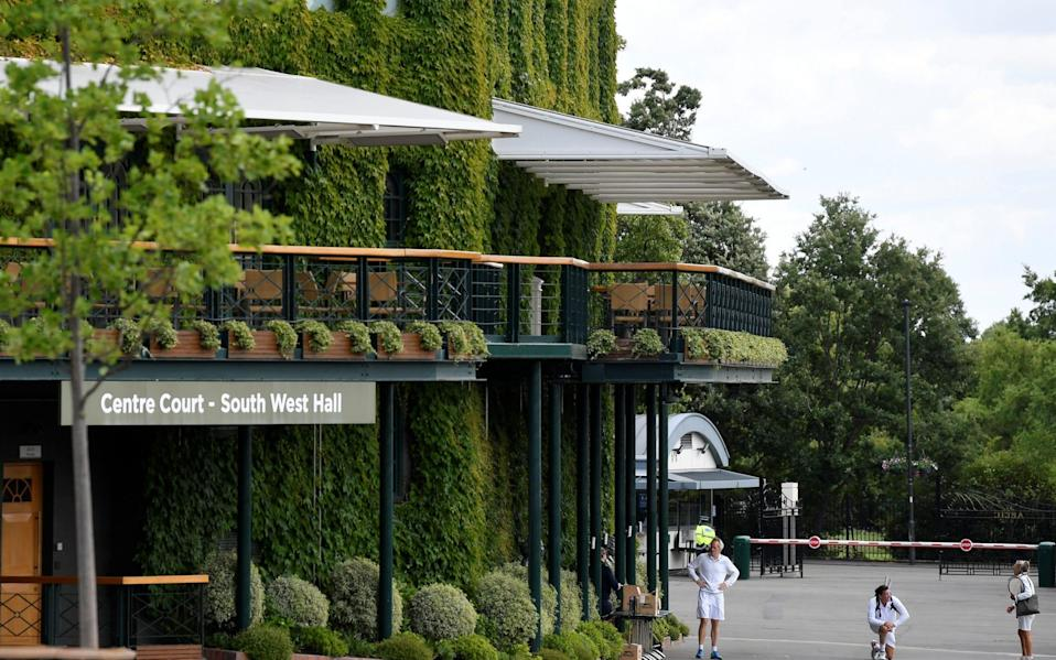 The All England Club has made changes to how Wimbledon will be run this year - REUTERS