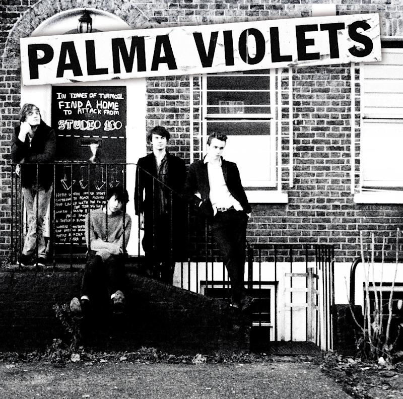 """This CD cover image released by Rough Trade shows """"180,"""" by Palma Violets. (AP Photo/Rough Trade)"""