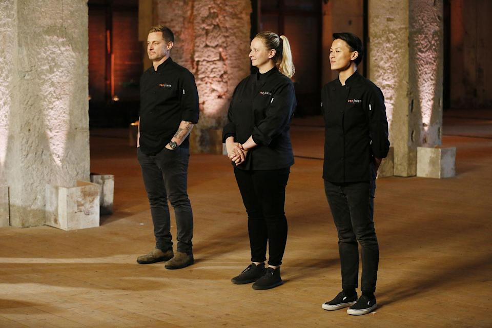 """<p>In an interview, a culinary producer for the show revealed they spend up to <a href=""""https://www.seattlemet.com/eat-and-drink/2012/07/a-seattle-chef-pulls-back-the-curtain-on-top-chef-july-2012"""" rel=""""nofollow noopener"""" target=""""_blank"""" data-ylk=""""slk:$5000 on groceries"""" class=""""link rapid-noclick-resp"""">$5000 on groceries</a>.</p>"""