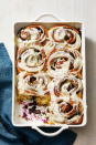 "<p>Opening presents takes a lot of energy, and so you'll want to refuel afterward with a hearty breakfast. Try one you can prep the night before so all you have to do on Christmas morning is pop it in the oven. </p><p><em><a href=""https://www.goodhousekeeping.com/food-recipes/a32223744/blueberry-sweet-rolls-with-lemon-recipe/"" rel=""nofollow noopener"" target=""_blank"" data-ylk=""slk:Get the recipe for Blueberry Sweet Rolls With Lemon »"" class=""link rapid-noclick-resp"">Get the recipe for Blueberry Sweet Rolls With Lemon »</a></em></p><p><strong>RELATED:</strong> <a href=""https://www.goodhousekeeping.com/holidays/christmas-ideas/g2998/christmas-breakfasts/"" rel=""nofollow noopener"" target=""_blank"" data-ylk=""slk:50 Cozy Christmas Breakfasts to Start Your Holiday Right"" class=""link rapid-noclick-resp"">50 Cozy Christmas Breakfasts to Start Your Holiday Right</a></p>"
