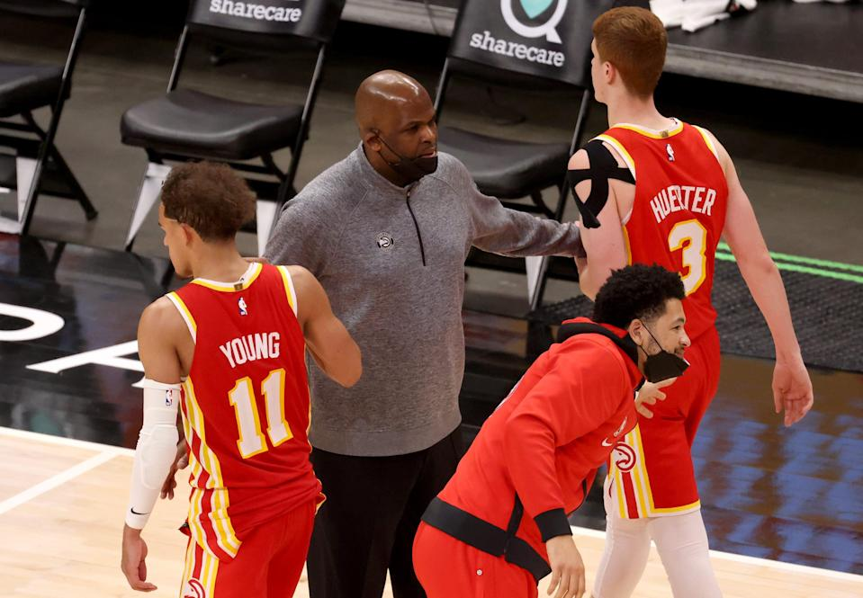 The Hawks have turned their season around since Nate McMillan took over as interim coach. The Hawks are 21-10 since McMillan took the helm on March 1.